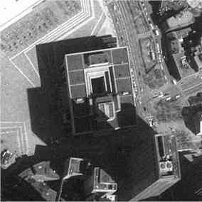 boston city hall from air : click to enlarge