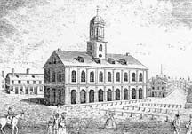 Photo of Faneuil Hall's East Face